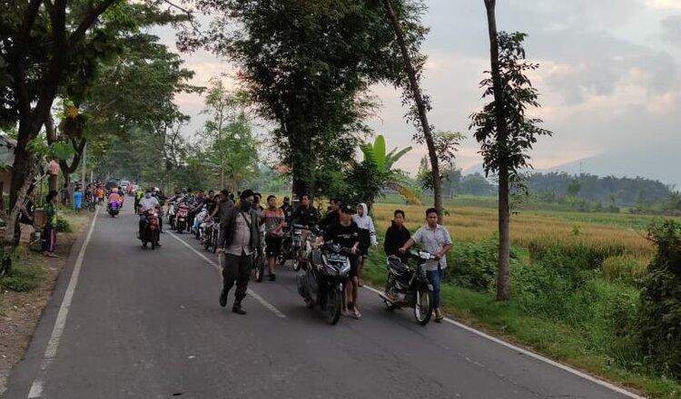 Hendak Balap Liar, 24 Motor Diamankan Polsek Gondang Mojokerto