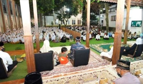 Pemkab Banyuwangi Bersama Santri Gelar Doa Bersama untuk 53 ABK KRI Nanggala-402
