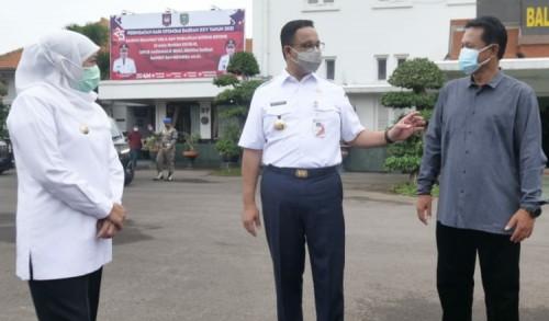 Singgah di Kota Pendekar, Gubernur DKI dan Gubernur Jatim Apresiasi Penataan Kota Madiun