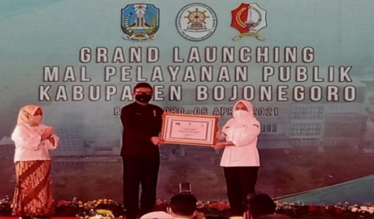 Menteri PANRB Berharap Banyak Saat Peresmian MPP Pemkab Bojonegoro