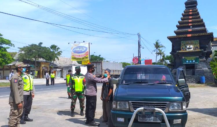 Jaga Posko Penyekatan Mudik Lebaran, Polres Tuban Siagakan Personel 24 Jam