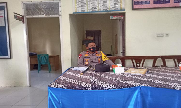 Kapolda Maluku Utara Kunjungi Sejumlah TPS di Halmahera Utara
