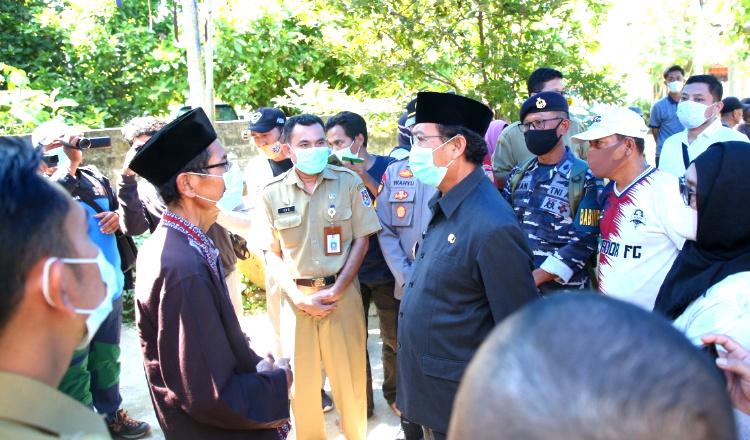 Kunjungi Keluarga Raditaka Margiansyah, Bupati Tuban: Insya Allah Mati Syahid