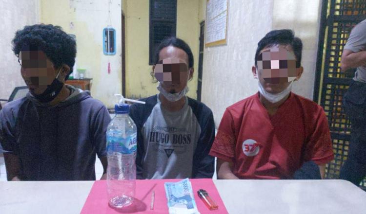 Nyabu Berjamaah, 3 Warga Diamankan Satresnarkoba Polres Kutim