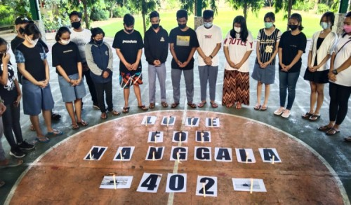Love For Nanggala 402: Ucapan Belasungkawa dari Pelajar Banyuwangi untuk 53 Awak Kapal