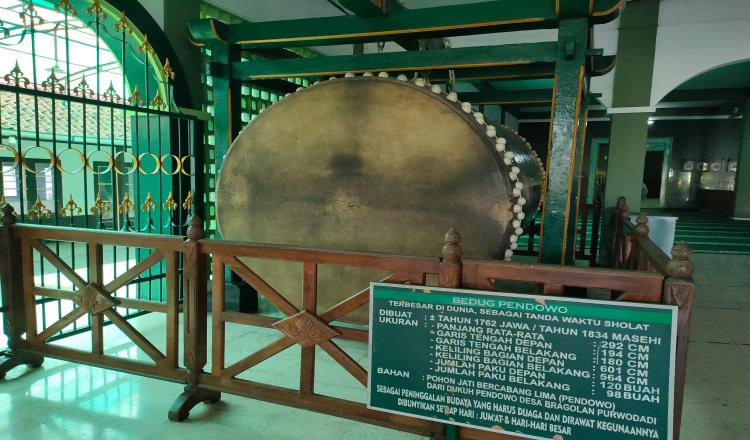 Bedug Terbesar di Dunia Menjadi Destinasi Wisata Religi Kabupaten Purworejo