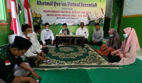 Prihatin KRI Nanggala 402 Tenggelam, PPP Lamongan Gelar Khotmil Quran dan Doa Untuk Keselamatan Bangsa