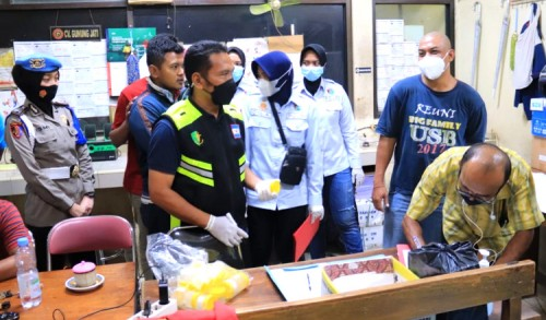 Hasil Tes Urine Positif, 4 Sopir Cargo Semen Indonesia Tuban Diamankan Polisi