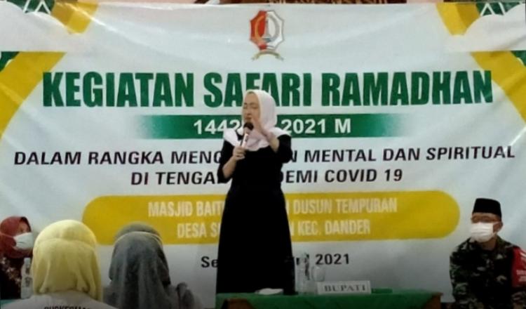 Giat Safari Ramadhan, Bupati Bojonegoro Ajak Ini Pada Masyarakat