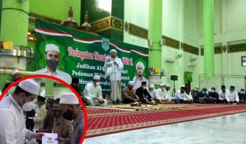 Penjaga Masjid dan Penghafal Al-Qur'an Terima Tali Asih Baznas Probolinggo