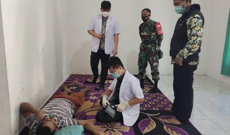 Petugas PKM Panji Situbondo, Tracing BMI Dari Malaysia