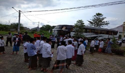 800 Santri Nurul Jadid Asal Bondowoso Pulang Kampung, BPBD Disterilisasi Lokasi Penjemputan