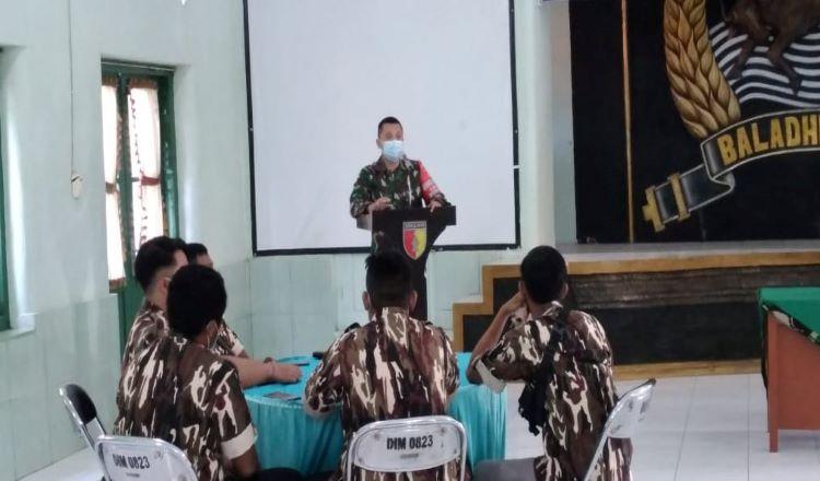 Dandim Situbondo Minta Keluarga Besar TNI Waspada Kelompok Terorisme