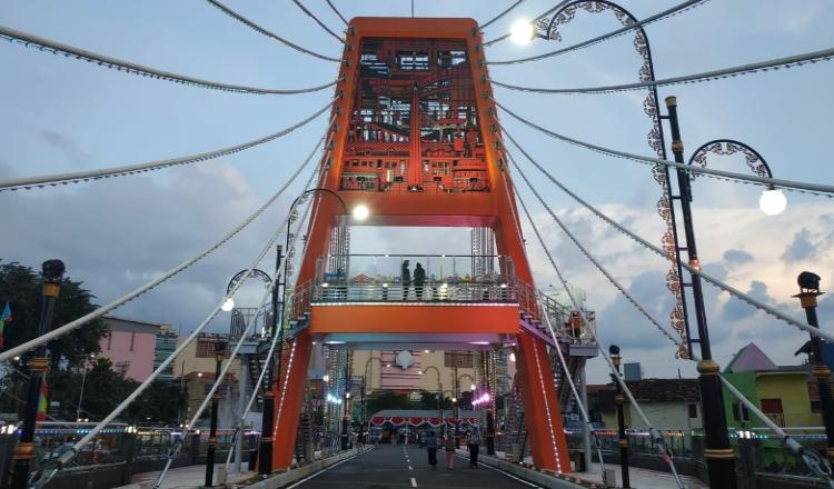 Sering Alami Penundaan, Pemkot Surabaya Akhirnya Resmikan Jembatan Joyoboyo