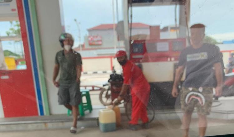 SPBU di Sangatta Layani Pembelian BBM Menggunakan Jerigen