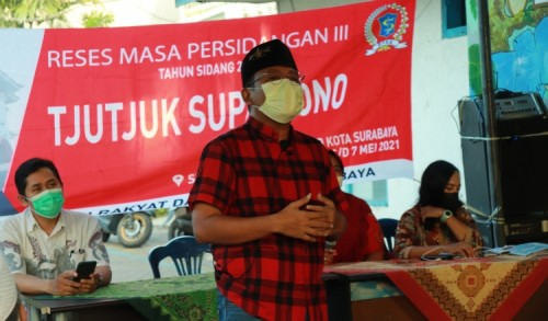Dewan Terus Fokus Sosialisasikan Program JKS ke Warga Surabaya