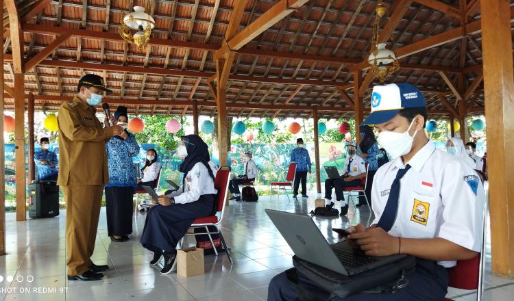 Hardiknas, Wali Kota Madiun Gelar Daring Outdoor Learning Sambut PTM