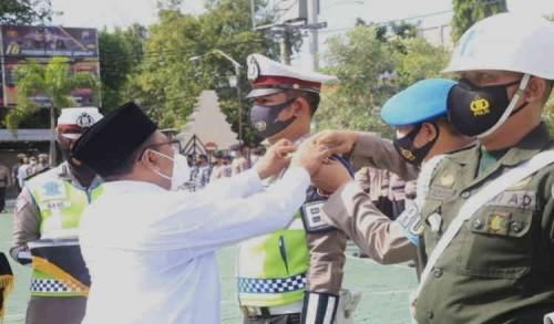 Apel Pasukan Ops Ketupat Semeru di Banyuwangi, Wabup Sugirah Minta Perketat Penyekatan