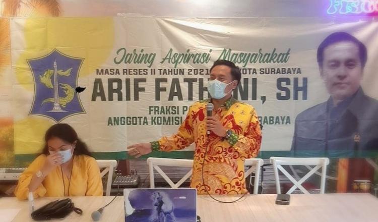 Golkar Surabaya Minta Vaksinasi Diselesaikan Hingga ke Semua Lapisan Masyarakat