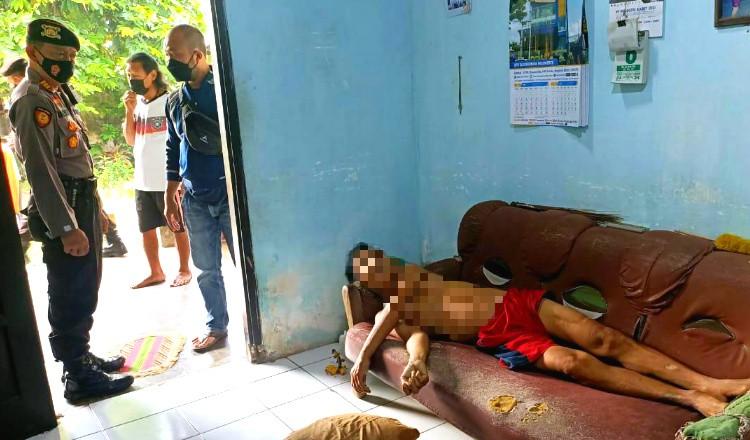 Pria Paruh Baya di Kingking Tuban Ditemukan Tak Bernyawa di Atas Kursi Rumahnya