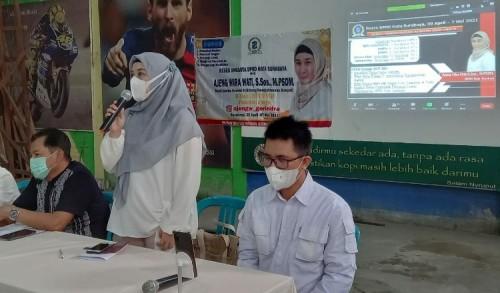 Reses Wakil Ketua Komisi D, Warga Gubeng Surabaya Diminta Segera Urus BPJS untuk Program JKS