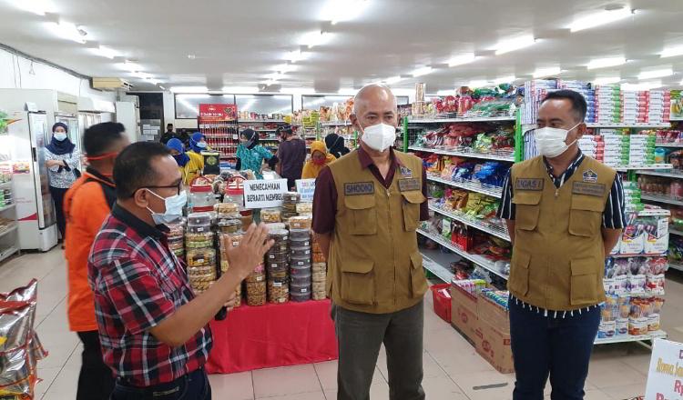 Pusat Perbelanjaan Membludak Jelang Lebaran, Satgas Covid-19 Gencar Operasi Yustisi