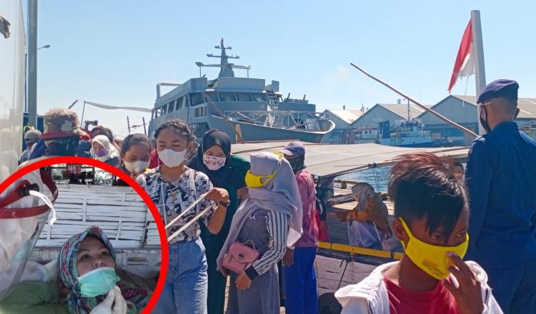 Cegah Kluster Tradisi Petolekoran, Satgas Covid-19 Operasi Yustisi di Pelabuhan dan Pertokoan