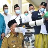 Tentukan Idul Fitri, LF PCNU Gresik Pantau Hilal di Bukit Condrodipo