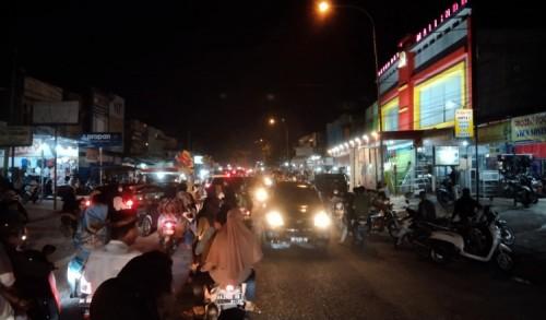 Malam Takbir di Kampar Banyak Masyarakat Abai Prokes