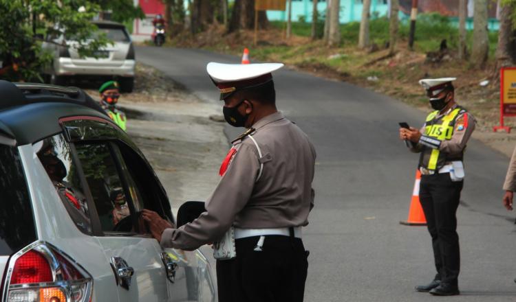 Ribuan Kendaraan Berhasil Diputarbalikkan Polisi, Selama Larangan Mudik Diterapkan di Blitar