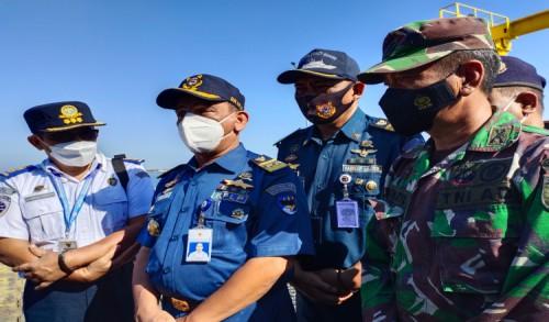 Ditjen Hubla Kemenhub RI Pantau Penumpang Kapal Ferry di Pelabuhan Jangkar