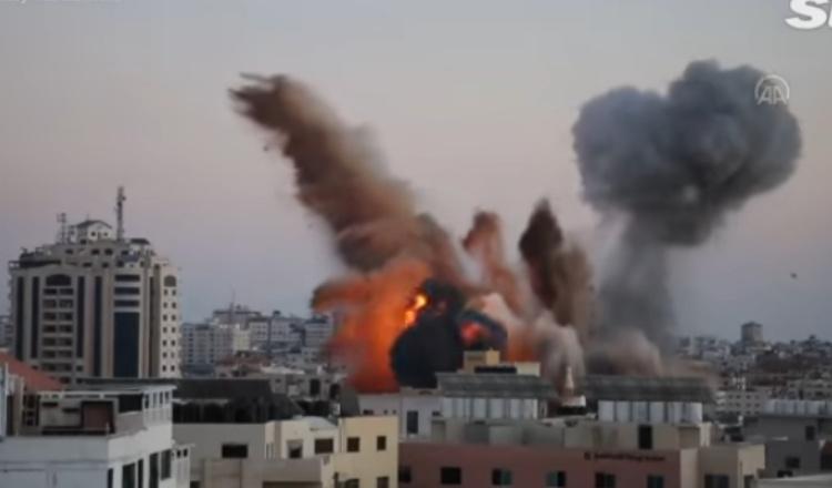 Israel Bombardir Palestina, Korban Tewas 191 Orang