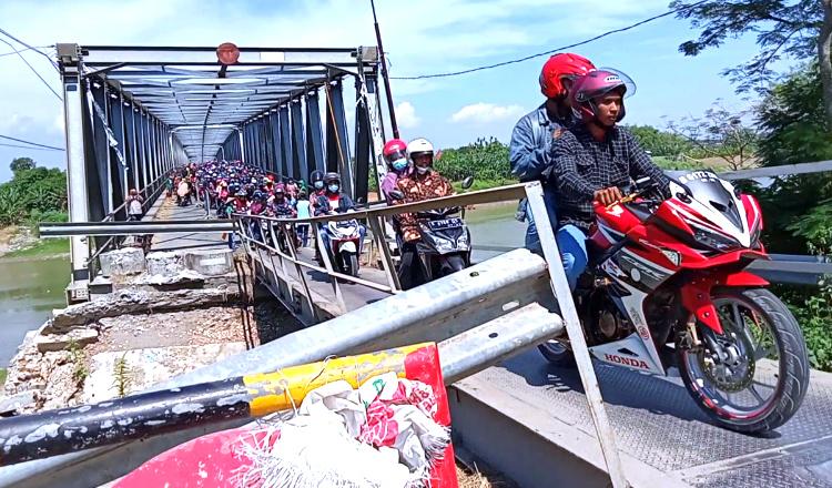 Masuki Proses Lelang, Pemkab Tuban Anggaran 6 Miliar Untuk Perbaikan Jembatan Glendeng