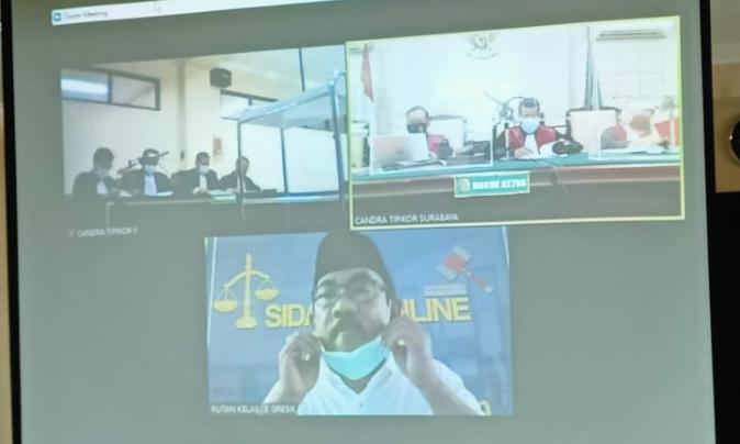 Copot Gigi Palsu di Depan Hakim, Suropadi Minta Pengalihan Penahanan