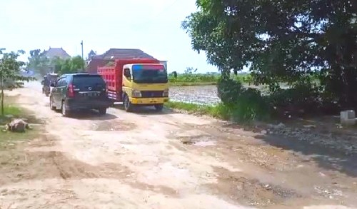 Jalan di Tiga Desa di Tambakboyo Tuban Rusak Parah, Kerap Akibatkan Kecelakaan