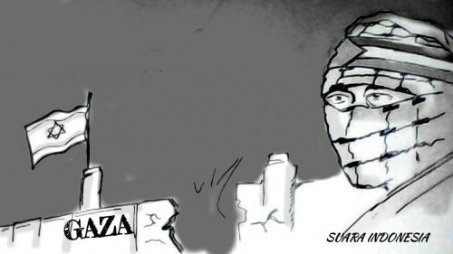Israel Membabi Buta Gempur Gaza