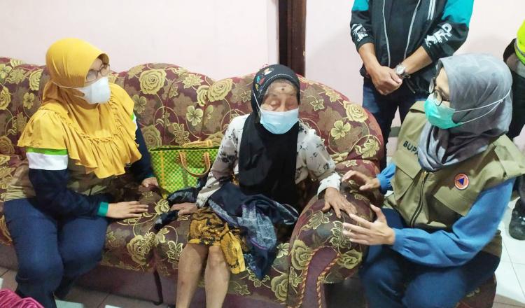 Kabupaten Blitar Diguncang Gempa 6,2 SR, Bupati Rini Langsung Pantau ke Wilayah Terdampak
