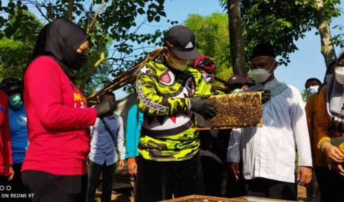 Ajak Puluhan Guru, Wali Kota Madiun Ingin Semua Sekolah Ada Ekstra Kurikuler Ternak Lebah Madu