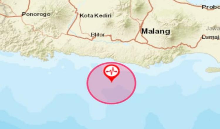 Gempa Berkekuatan 6,2 Magnitudo Guncang Blitar