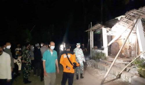Diguncang Gempa, 112 Bangunan di Kabupaten Blitar Rusak