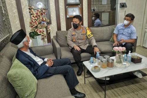 Polda Jatim dan PW Muhammadiyah Jatim Siap Kolaborasi Menjaga dan Memelihara Keberagaman