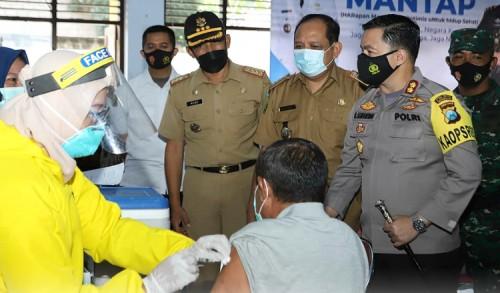 Pemkab Trenggalek Targetkan 50 Ribu Lansia Divaksin