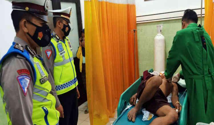 Kecelakaan Maut di Banyuwangi, Dua Orang Tewas, Satu Gegar Otak