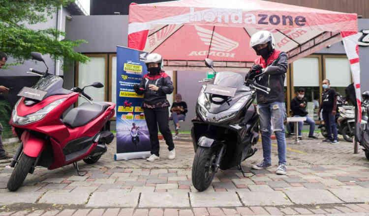 Yuk Hidir dan Meriahkan Test Ride Motor All New Honda PCX Berhadiah Motor
