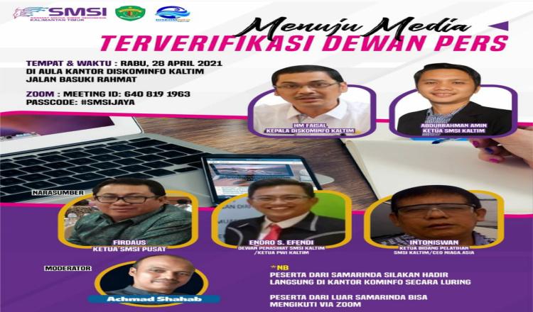 Abdurrahman Amin: SMSI Kaltim Dorong Perusahaan Pers Lakukan Verifikasi Administrasi dan Faktual