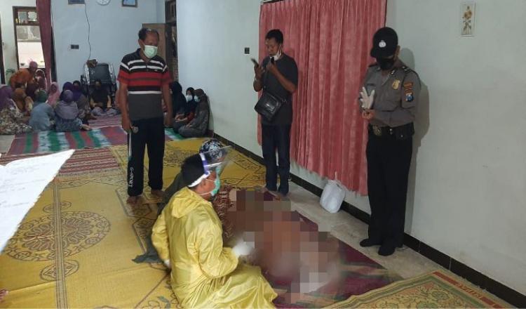 Seorang Pria Ditemukan Meninggal di Parit Sawah Ponorogo