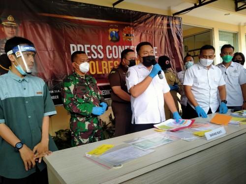 Polres Jember Tetapkan 4 Orang Tersangka Kasus Pelanggaran Prokes