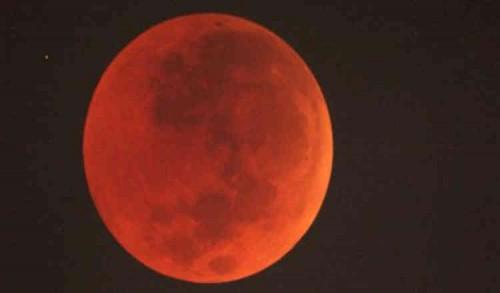 Durasi Puncak Gerhana Bulan Total Malam Ini Berlangsung Selama 18 Menit