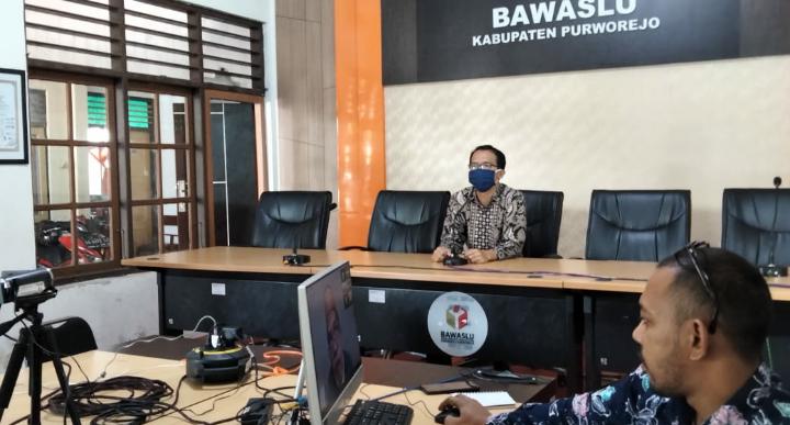 Wujudkan Demokrasi, Bawaslu Purworejo Adakan Sekolah Kader Pengawas Partisipatif