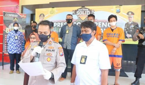 Bawa Sabu, Pemandu Lagu di Magetan Diamankan Polisi